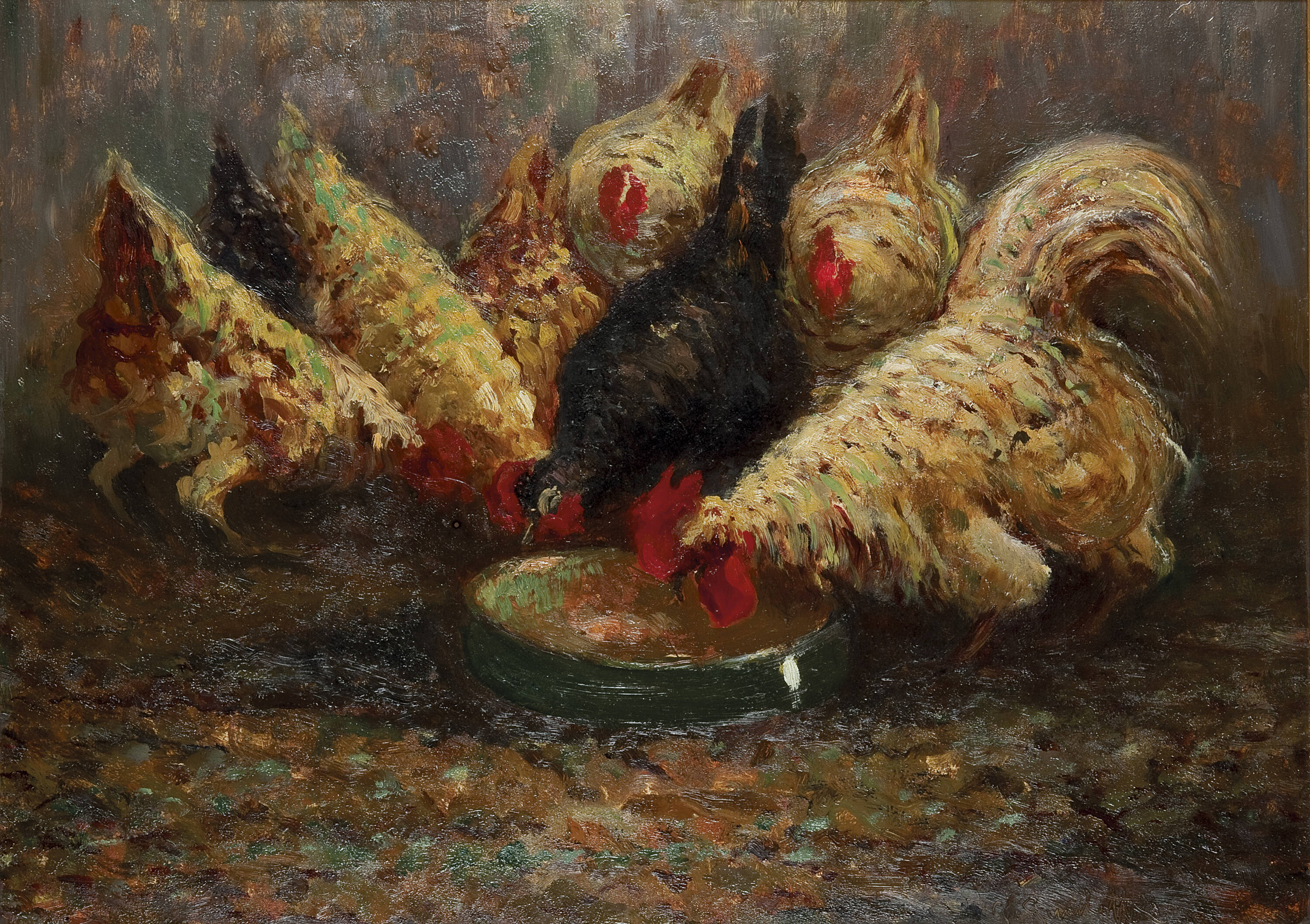 GIOVANNI GUARLOTTI - 'Galline'