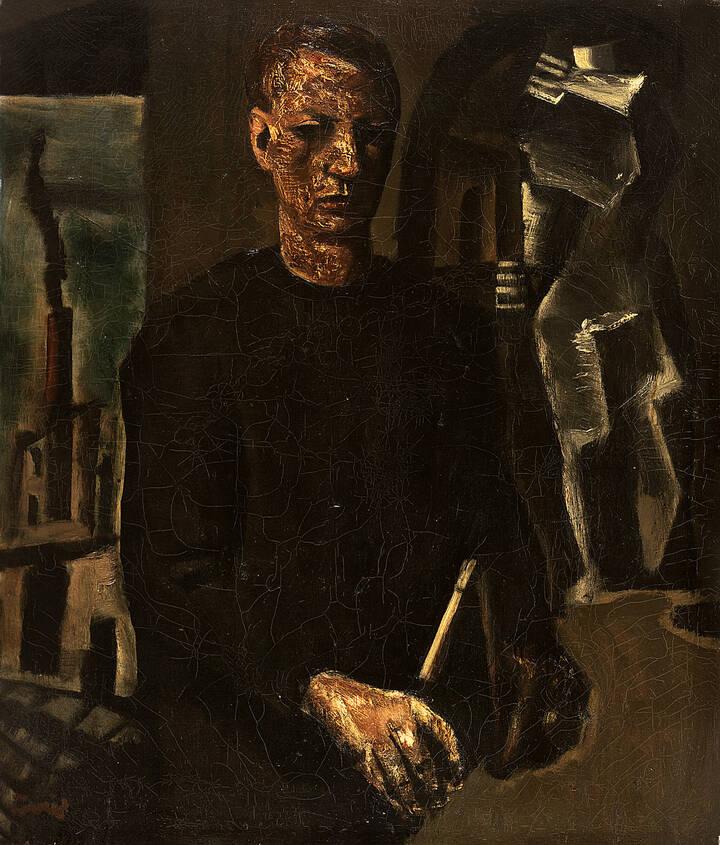 """Mario Sironi """"L'ingegnere"""" 1928"""