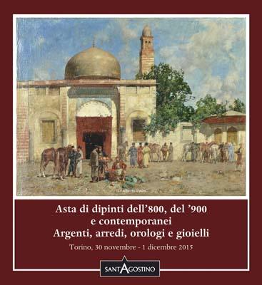 Calendario Aste Torino.Asta 132 Dipinti Argenti Arredi Orologi E Gioielli